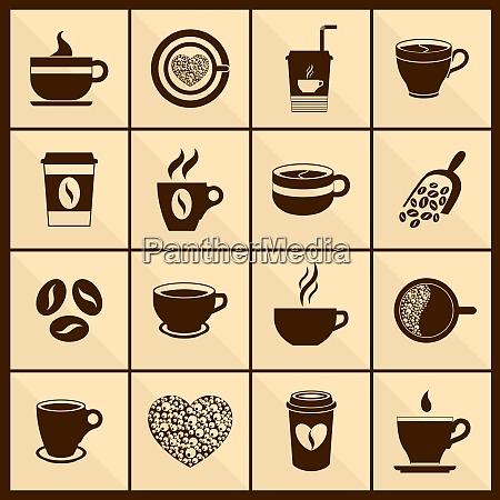 coffee cafe restaurant menu cup black