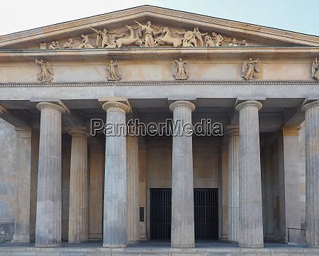 neue wache new guardhouse in berlin