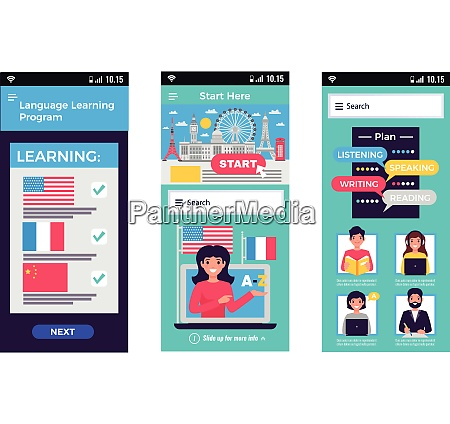 sprachtrainingsprogramm mobile apps erweitern das lernen