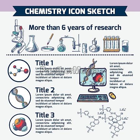 chemie, wissenschaftliche, technologie, forschung, infografic, computer - 27155248