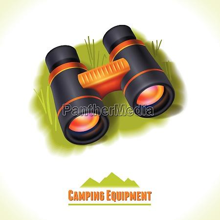 camping sommer outdoor aktivitaet konzept ausruestung