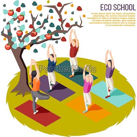 alternatives lernen isometrische zusammensetzung OEkoschule mit