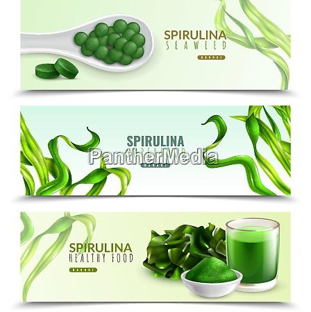 spirulina supplement healthy food 3 realistic