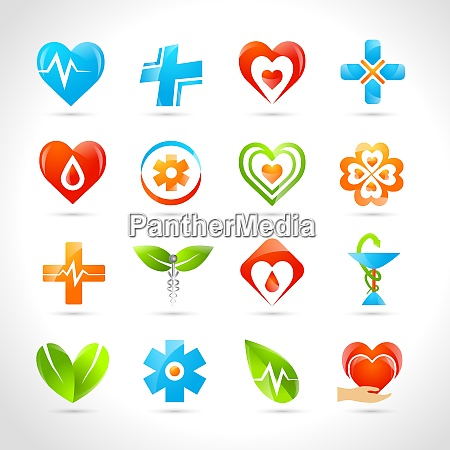 medical pharmacy and healthcare logo designs