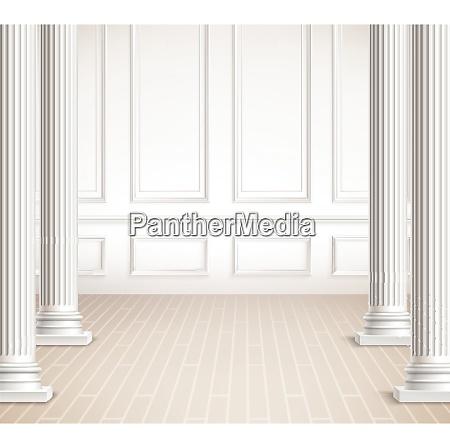 klassische innenarchitektur innen vektor design klassische
