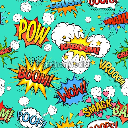 comics sprache und ausrufe aus setzen