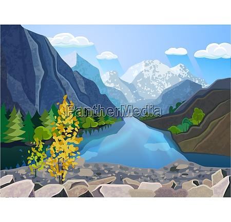 quality landscape wallpaper summer mountain range