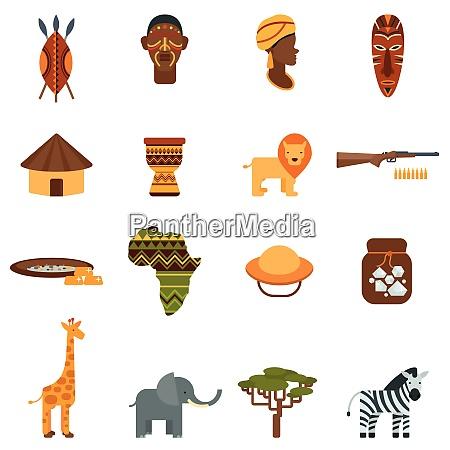 afrikanische natuerliche welt und kultur schwarze