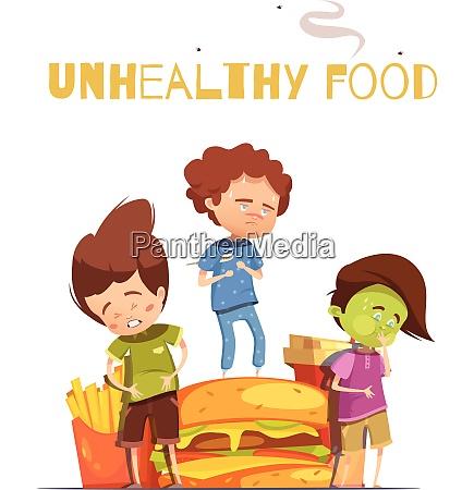 ungesunde junk food schaedliche effekte warnung
