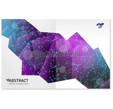 abstrakte 3d geometrische formen bunte computer