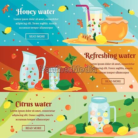 detox honey citrus water cleansing body