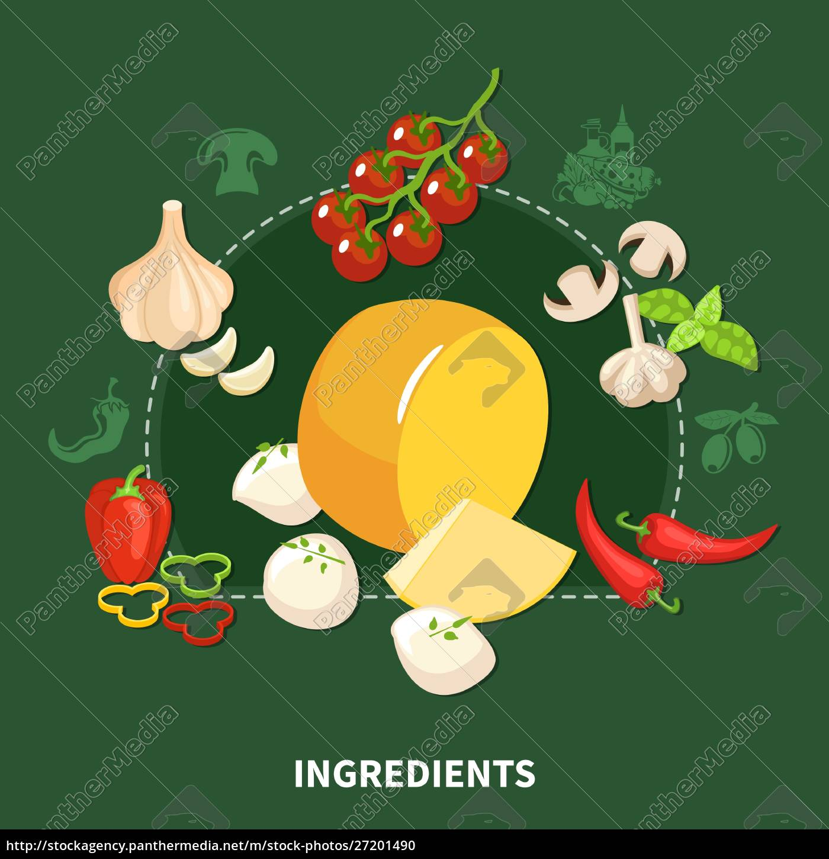 italian, food, green, background, with, organic - 27201490