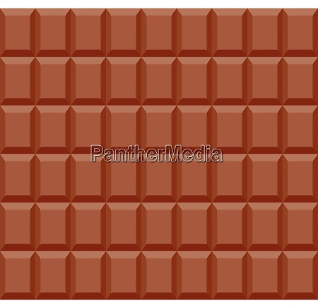 seamless pattern of chocolate bar background