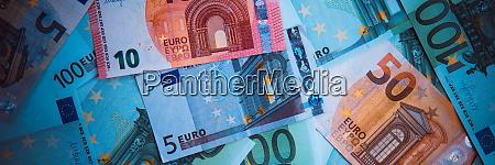 euro geld euro bargeld hintergrund euro