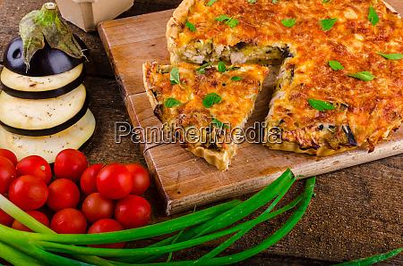 franzoesisch quiche vegetarisch