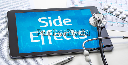 the word side effects on the