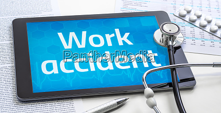 the word work accident on the