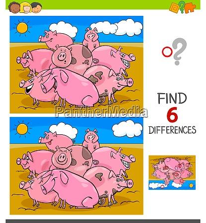 unterschiede spiel mit schweinen tier charaktere