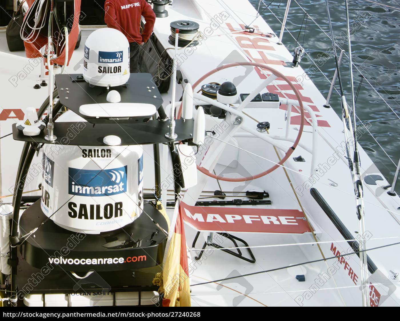the, spanish, boat, mapfre, in, cape - 27240268