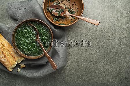 green heallthy soup