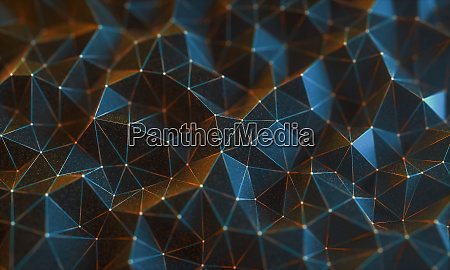 abstract background connections