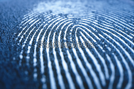 fingerprint biometric 3d digital data security