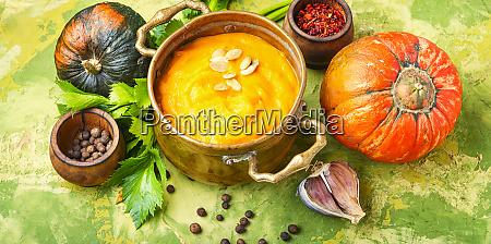 kuerbis vegane suppe
