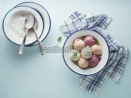 ice cream frozen yoghurt sorbet