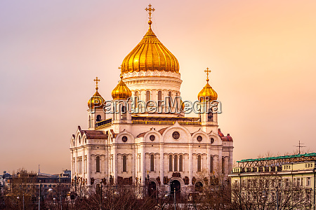 christ erloeser kathedrale mit dekorativen kuppeln