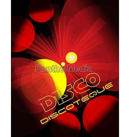 disco club flyer