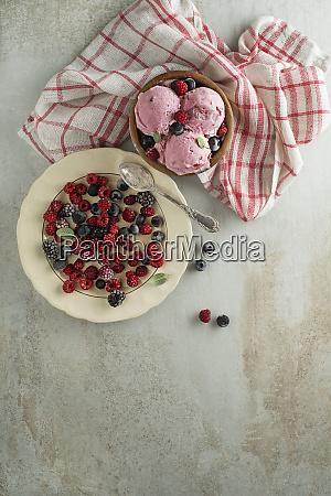 eiscreme frucht