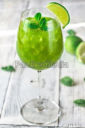glas gruener mojito