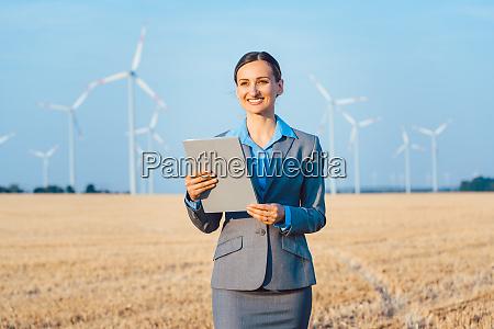 investor in windkraftanlagen mit computer bewertung