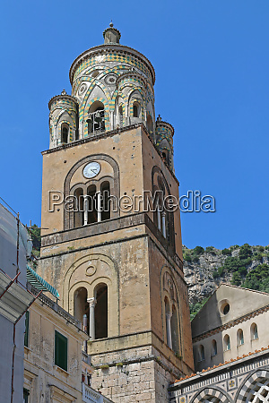 amalfi church tower