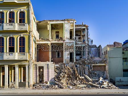 abriss eines wohnhauses havanna kuba