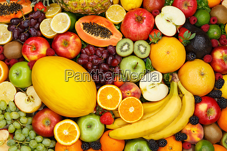 fruits collection food background apple apples
