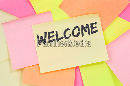 welcome new employee colleague refugees refugee