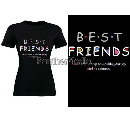 black t shirt design with inscription