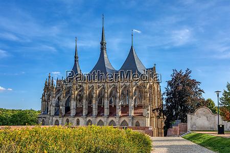 st barbara kathedrale kutna hora tschechische