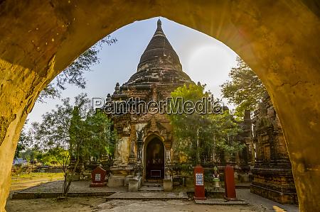 buddhist temple bagan mandalay region myanmar