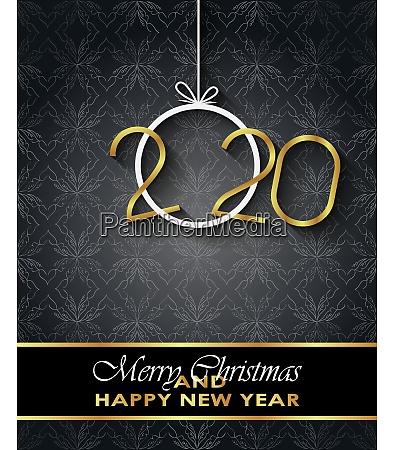 2020 frohe weihnachten hintergrund fuer ihre
