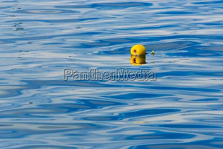 floating buoy in the ocean van