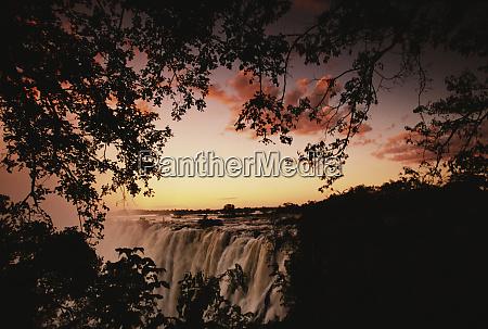 afrika sambia seite victoria falls