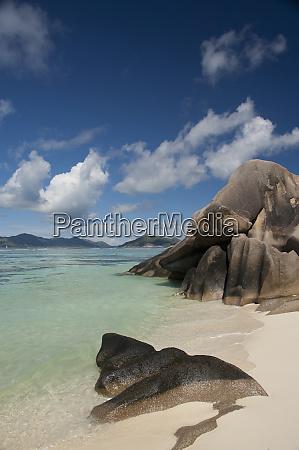 seychelles island of la digue anse