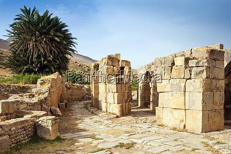 the theater roman ruins of bulla