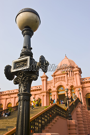 ahsan manzil palace in dhaka bangladesh