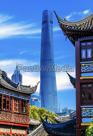 shanghai tower second tallest building in