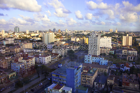 havana cuba colorful rooftop view from