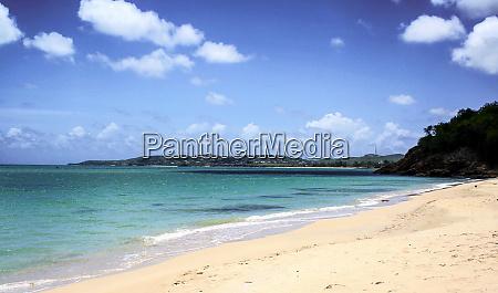 antigua caribbean white sand beach coastline