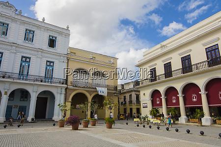 cuba havana plaza in old havana